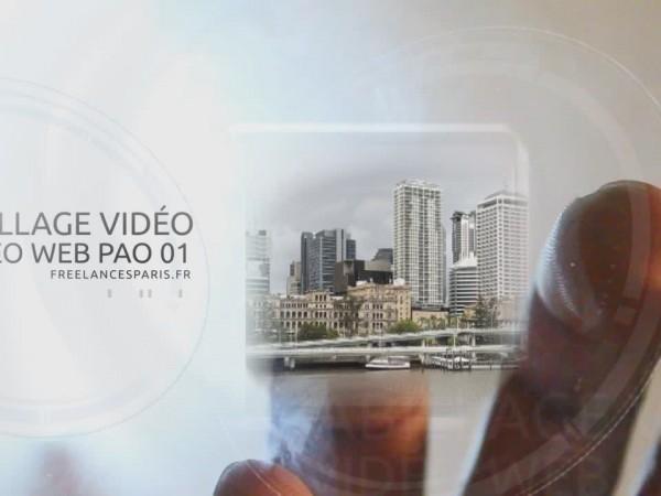 création vidéo entreprise style présentation de société corporate style doigts