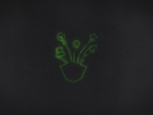 création animation logo vidéo entreprise style tracé de particules