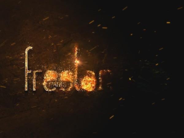 création animation logo vidéo entreprise style enflammé doré mystique