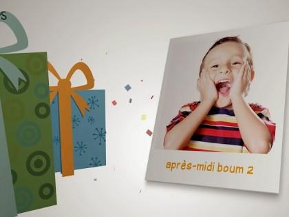 création vidéo entreprise style clip vidéo enfants modèle boum après-midi