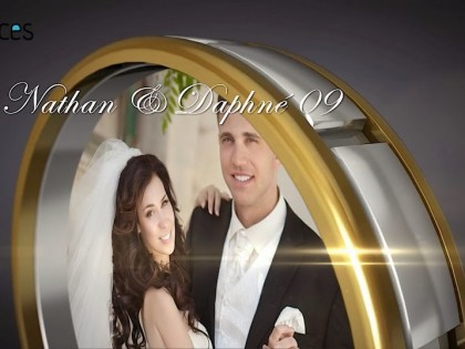 création vidéo entreprise style vidéo mariage thème anneau