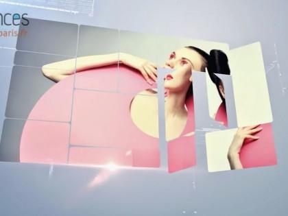création vidéo entreprise style panneaux présentation pour mannequin