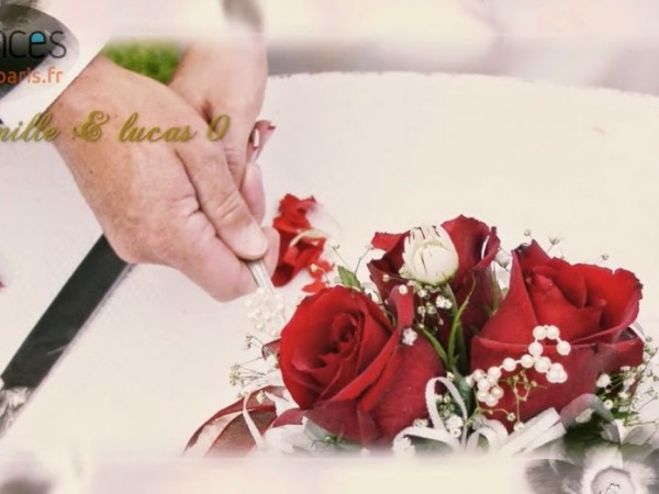 création vidéo entreprise style vidéo mariage thème vintage en fleurs de vortex