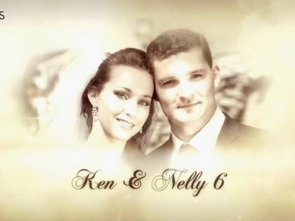 création vidéo entreprise style vidéo mariage thème romance pastel