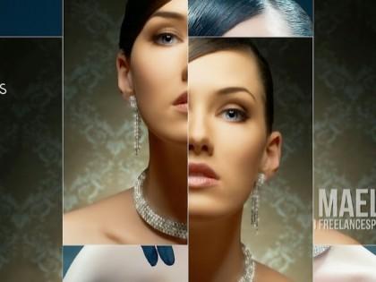 création vidéo entreprise style paradigme slideshow