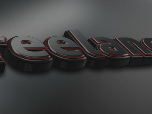 création animation logo 3d vidéo entreprise style noir intense