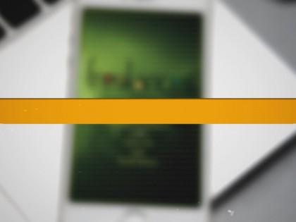création vidéo entreprise style slide divisé de photos
