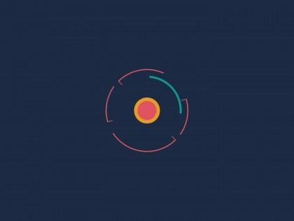 création animation logo formes géométriques vidéo entreprise style 11