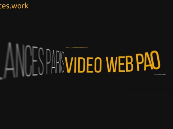création animation slogan vidéo entreprise style titrage nt19